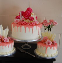 Drippy Cake Buffet $695 (3 cakes)