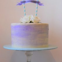 Watercolour Cake  Violet $195