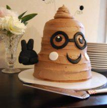 Pooh Emoji Cake $250