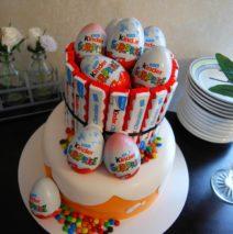 Kinder Surprise Cake $250