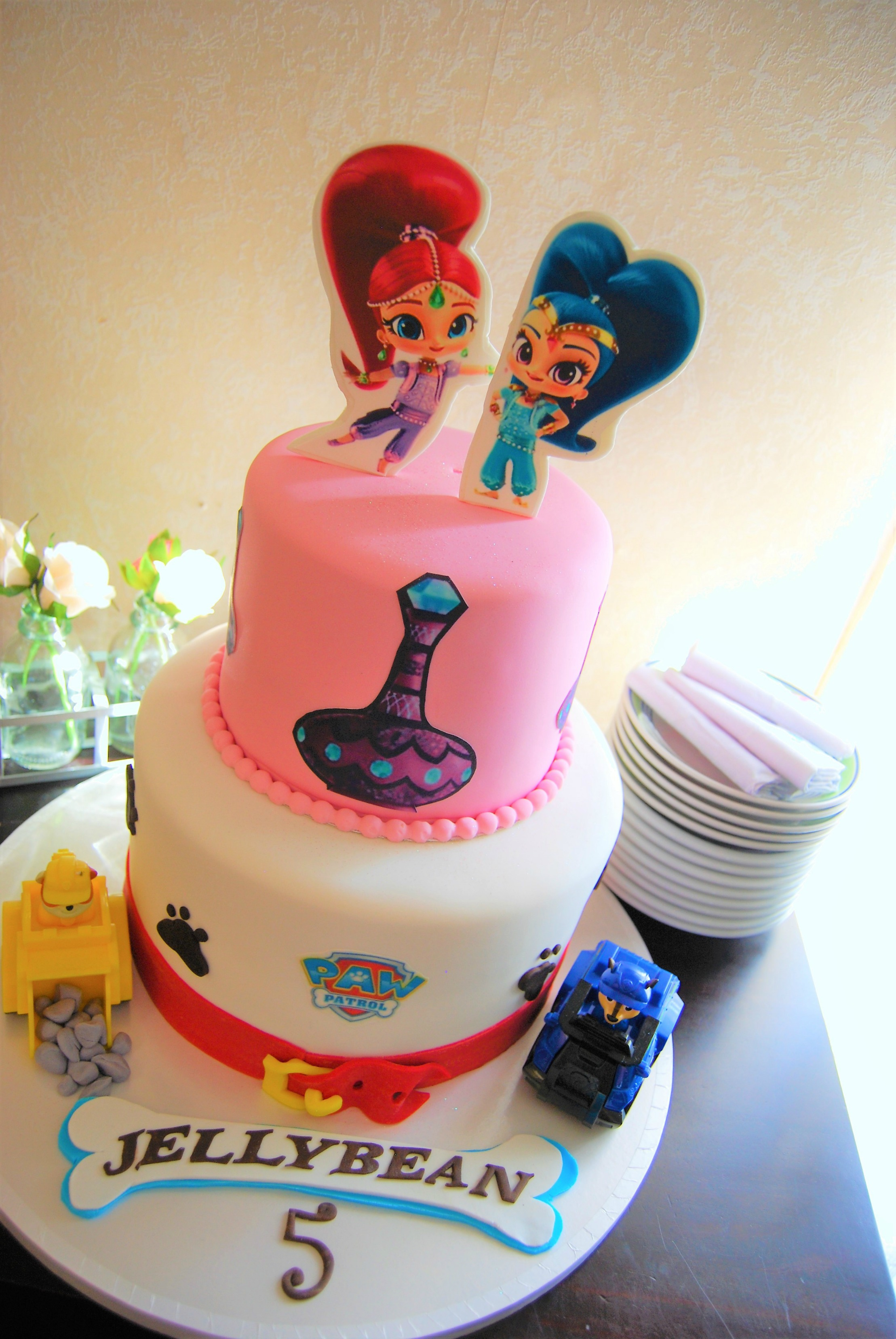 Shimmer And Shine Cake 395 Temptation Cakes