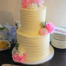 Rustic Wedding Cake $295