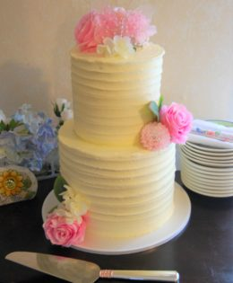 Rustic Wedding Cake $295