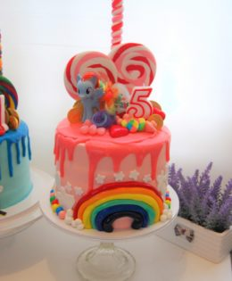 My Little Pony Drizzle Cake $195
