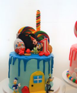 Mickey Mouse Drizzle Cake $195