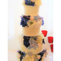 Four Tier Wedding Cake $695