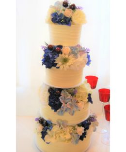 Four Tier Wedding Cake $695