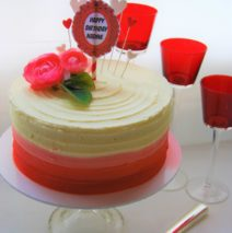 Red Ombre Cake $149