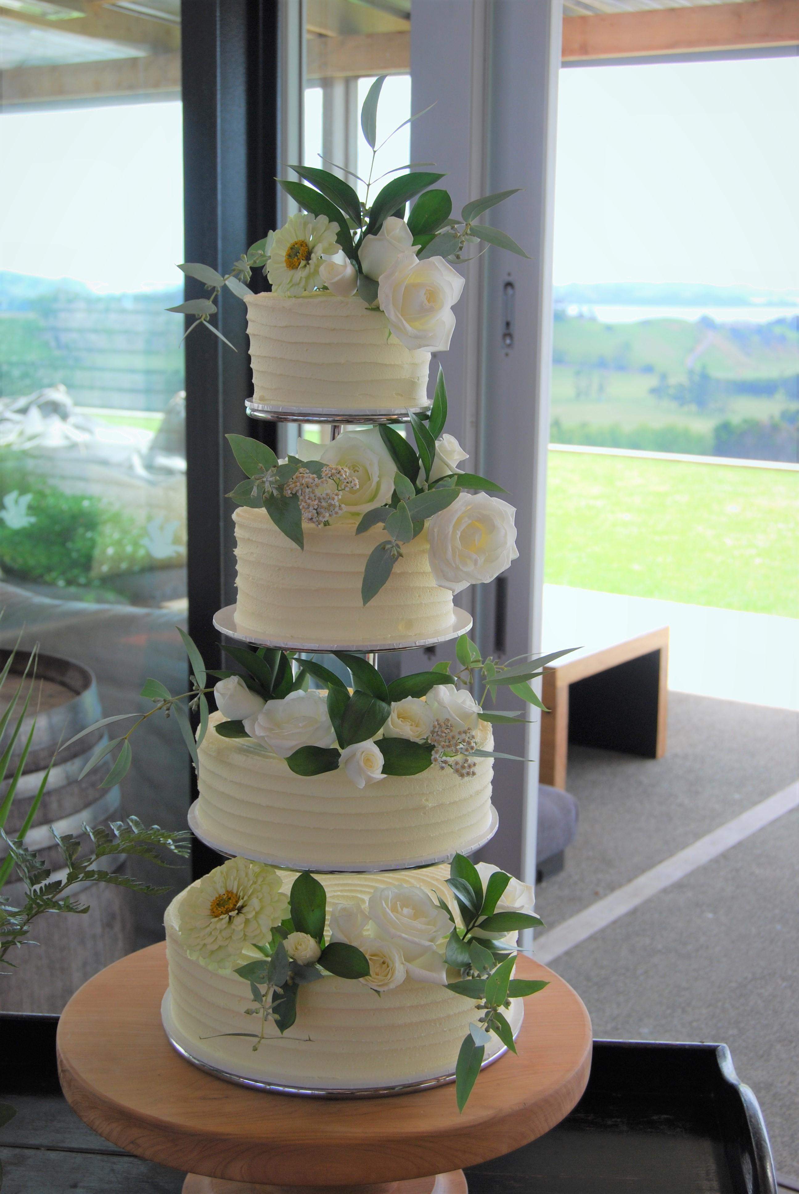 Naked wedding cake inspiration - Fab Mood   Wedding