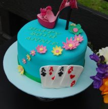 Stiletto Shoe Casino Cake $295