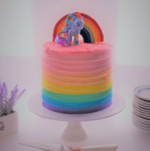 Rainbow My Little Pony Cake $195