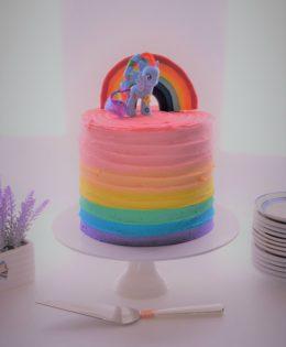 Rainbow My Little Pony Cake $195