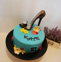 Stiletto Shoe Cake $195