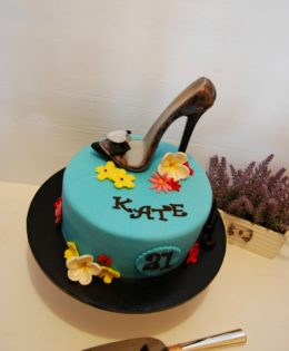 Stiletto Shoe Cake $195