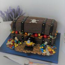 Treasure Chest Cake $250