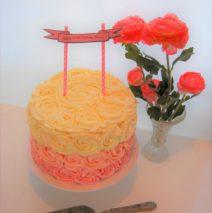 Rosette Cake $145