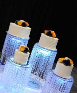 Deconstructed Wedding Cake $595