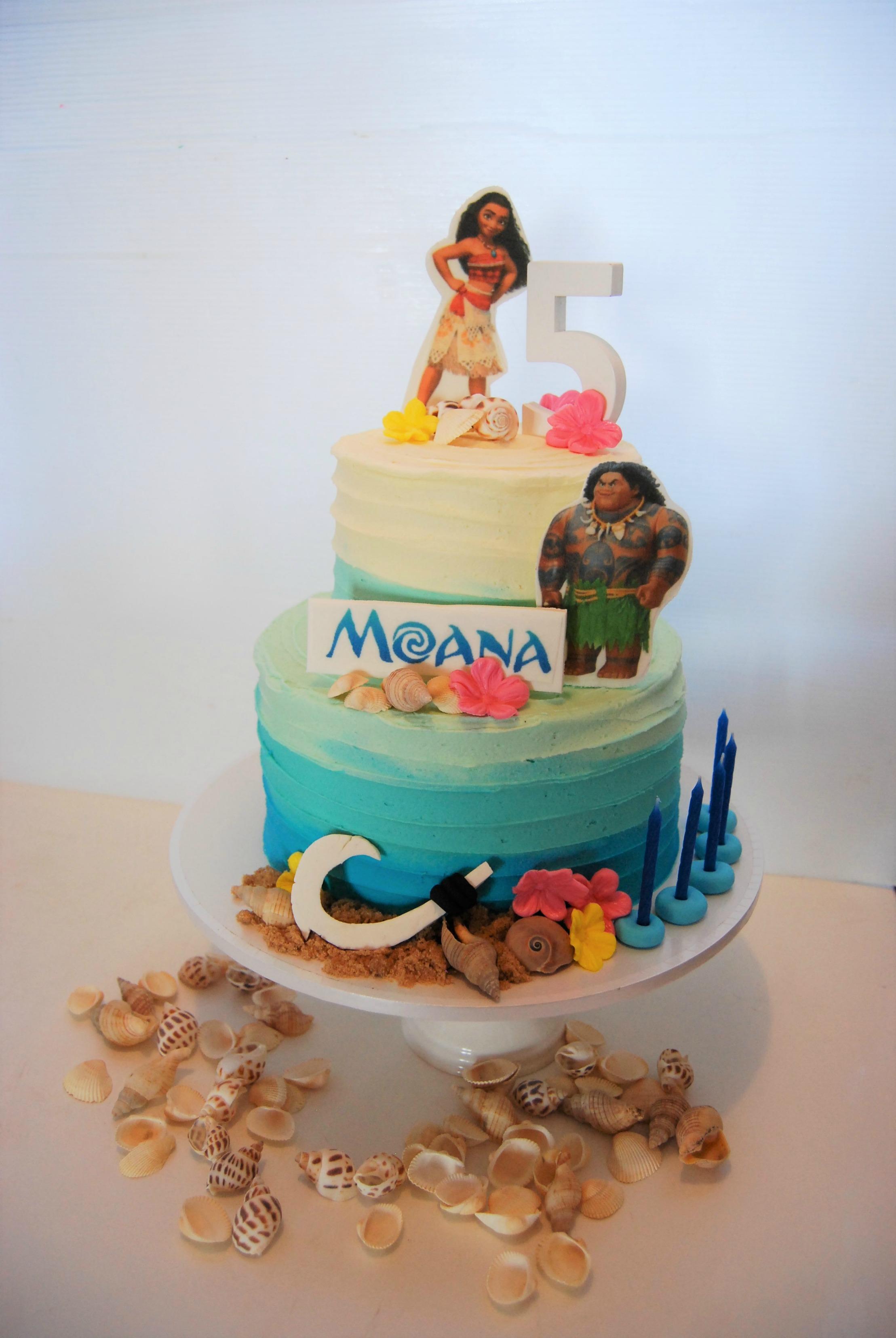 Birthday Cake Ideas Nz : Moana Cake USD250   Temptation Cakes Temptation Cakes