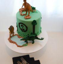 Six inch Dinosaur Cake $195