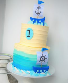 Sail Boat Cake $295