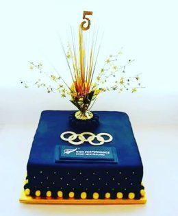 Olympic Cake $295