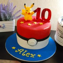 Pokemon 7 inch Cake $195