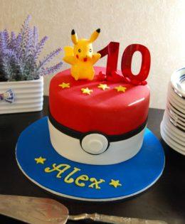 Pokemon 7 inch Cake $195