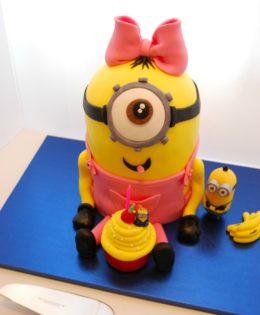 Girl Minion Cake $299