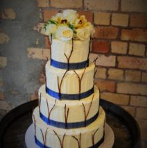 Woodlands Wedding Cake $795