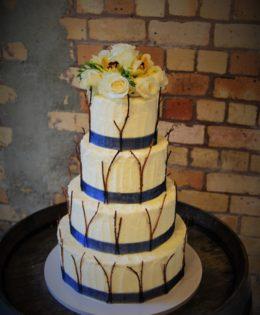 Woodlands Wedding Cake $795
