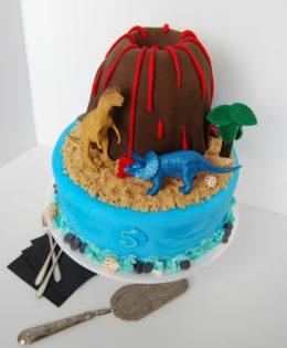 Volcano Cake $395