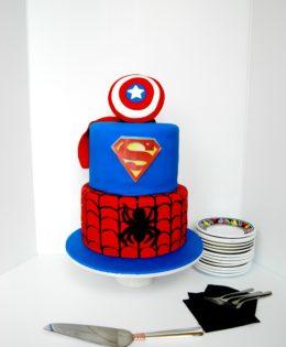 Captain America Cake $395