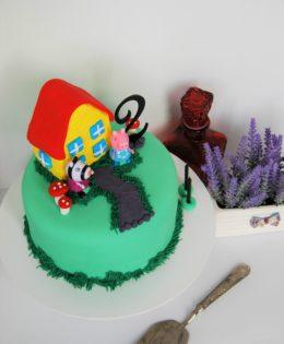 Peppa Pig House Cake $195