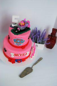 paw patrol girls cake