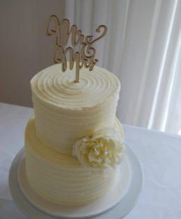 Petite Wedding Cake $275