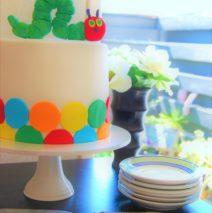 The Very Hungry Caterpillar Cake $250