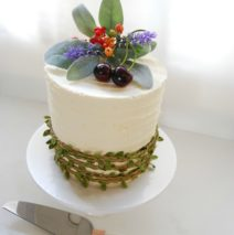 Woodlands Themed Cake $195