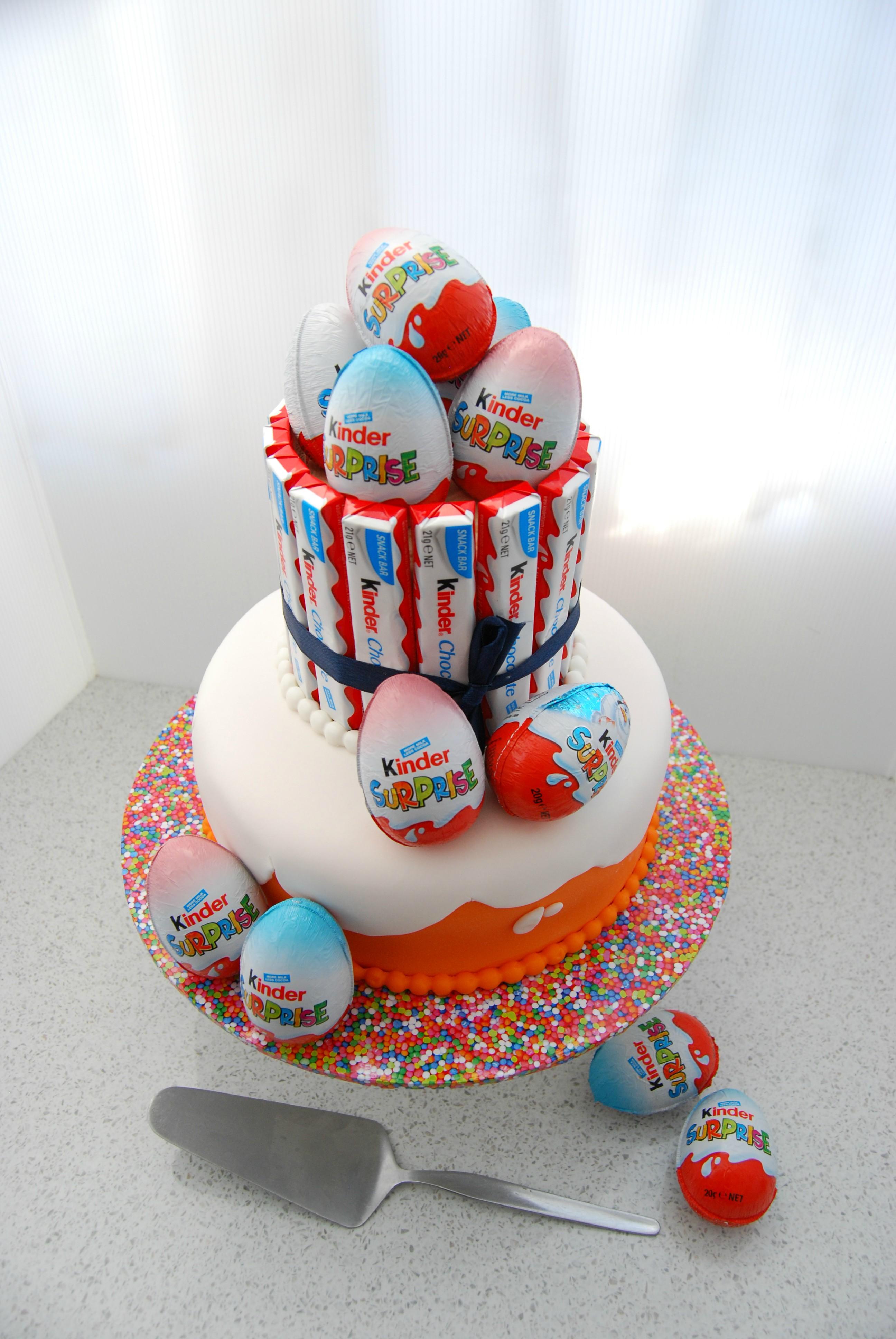 Kinder Joy Cake Recipe