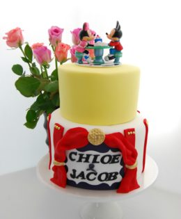Minnie & Mickey Mouse Cake $295