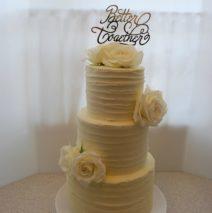 White Wedding Cake $595