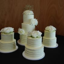 9 Tier Wedding Cake $1350