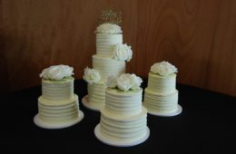 9 Tier Wedding Cake $1350