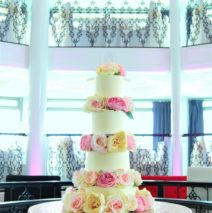 4 Tier Wedding Cake $695