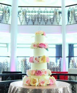 4 Tier Wedding Cake $695