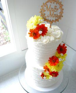 Rustic Wedding Cake 320
